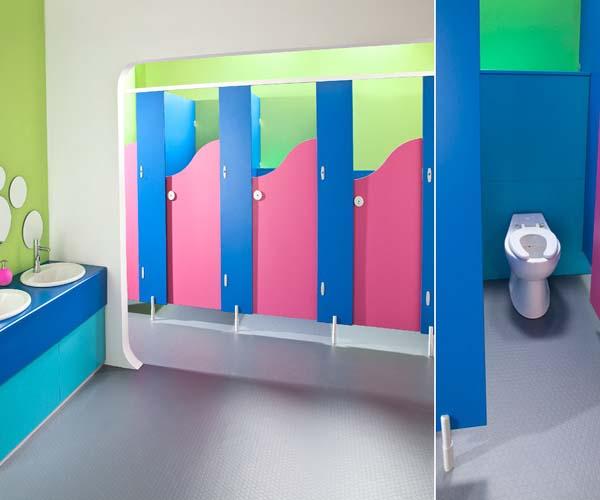 Compact Laminat Çocuk Kabinleri 1