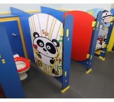 Compact Laminat Çocuk Kabinleri 2